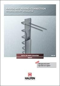 Atlenkiamoji armatura HALFEN HBT Denia Solutions Brosiura