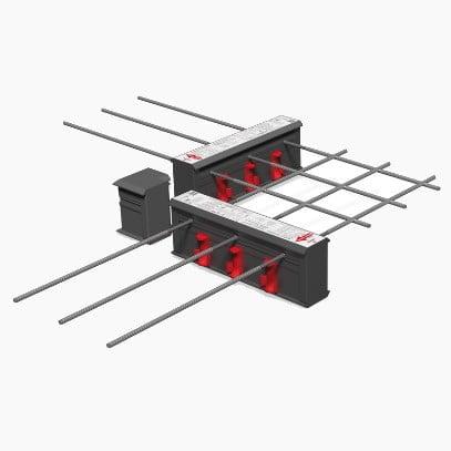 Balkono armavimo elementas salcio tilto pasalinimui HALFEN HIT Denia Solutions 1
