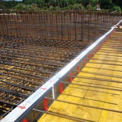 Balkono armavimo elementas salcio tilto pasalinimui HALFEN HIT Denia Solutions 4