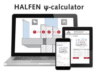 Balkono armavimo elementas salcio tilto pasalinimui HALFEN HIT Skaiciavimo programa