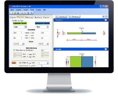 Deformaciniu siuliu sujungimo sistema HSD CRET Denia Solutions Skaiciavimo programa