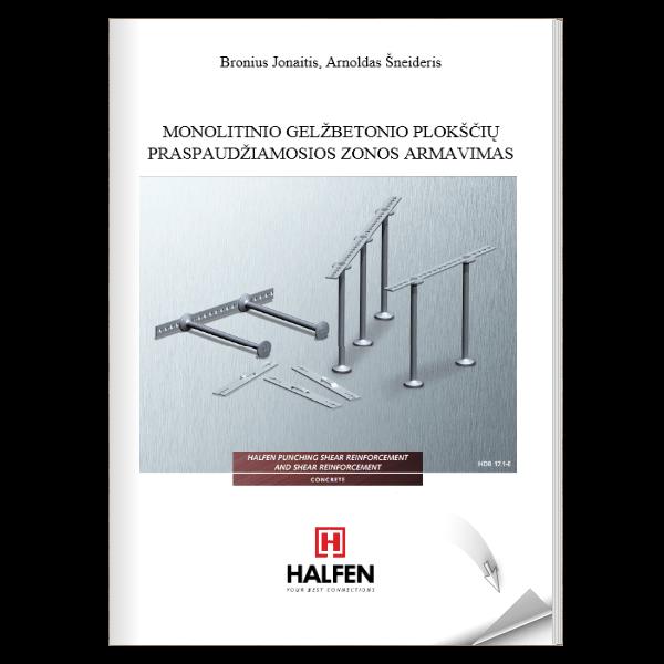 Denia Solutions Halfen Leidiniai Monolitino gelzbetonio ploksciu praspaudziamosios zonos armavimas