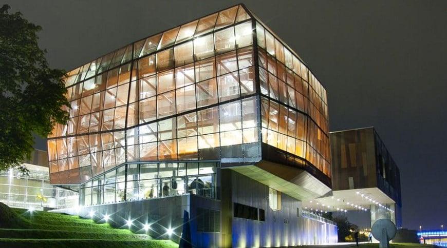 Denia Solutions Projektai Gelzbetonio monolito armavimo sprendimai HALFEN Koperniko muziejus Varsuvoje