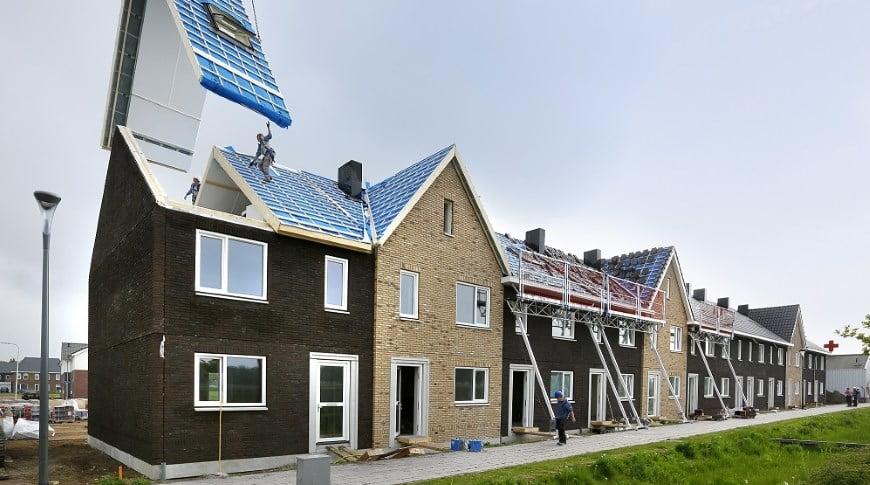 Denia Solutions Projektai Surenkamojo gelzbetonio konstrukciju sprendimai HALFEN daugiabutis MorgenWonen olandijoje