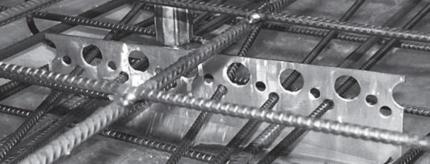 Gelzbetoniu ploksciu sujungimo sistema HALFEN MVA Denia Solutions gamyboje