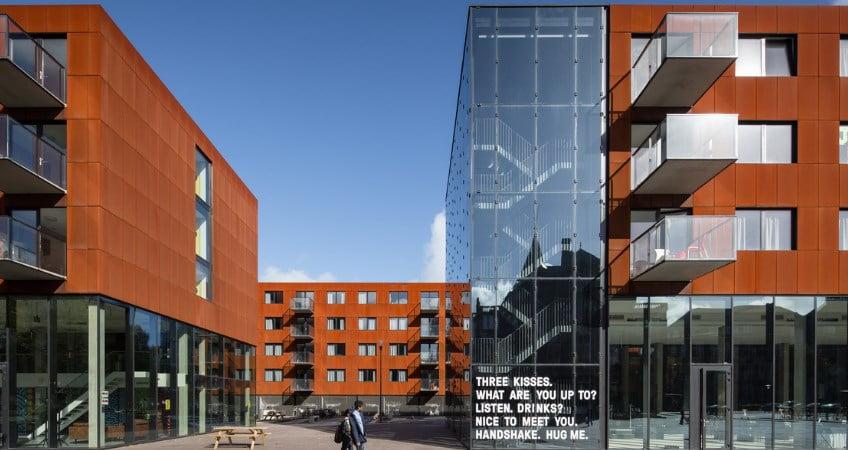 Ultra plonų balkonų armavimo sprendimas Olandijoje