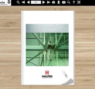 Denia Solutions Erdviniu rysiu sistema HALFEN DETAN Mokomoji knyga