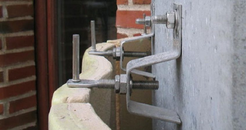 Кронштейны HALFEN для крепления фасадов из натурального камня